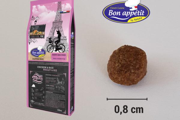 Croquettes pour chiot Bon Appetit Chiot Poulet Riz
