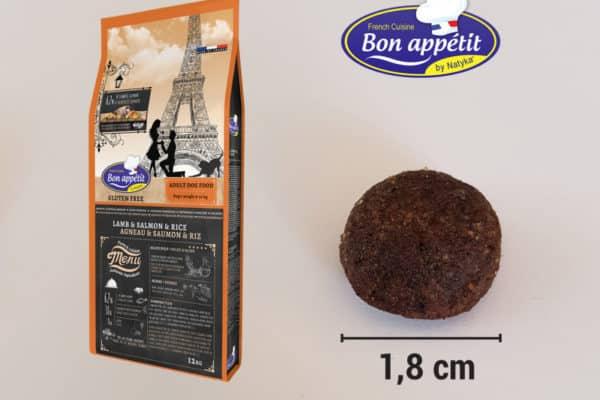 croquettes Bon Appétit Agneau, Saumon & Riz