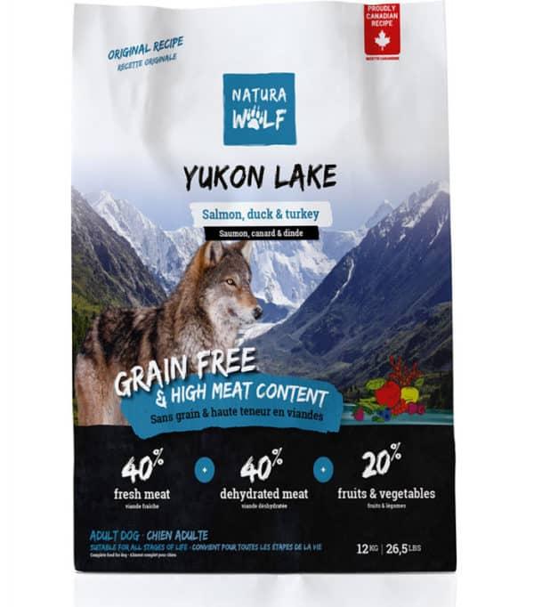 Natura Wild Yukon Lake : Croquettes pour chien adulte et chien âgé