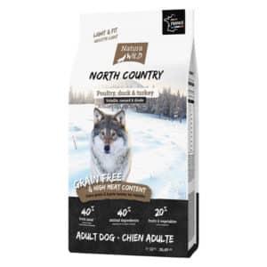 Natura Wolf North Country : Croquettes pour grand chien stérilisé/surpoids